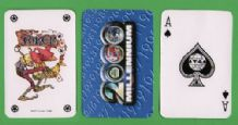 Collectible Vintage playing cards Millenium 2000